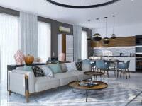 Дизайн элитного жилья в Геленджике -Гостиная