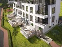 апартаменты с террасами и балконами