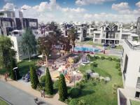 Квартиры в Геленджике. Детская площадка. Вид сверху